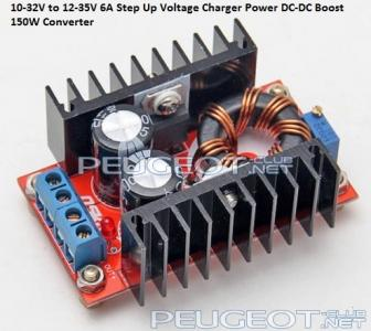 [Peugeot-Club.net] - 10-32V to 12-35V 6A Step Up Voltage Charger Power DC-DC Boost 150W Converter.jpg